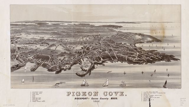 Pigeon Cove, Rockport, Essex County, Mass., 1886 /