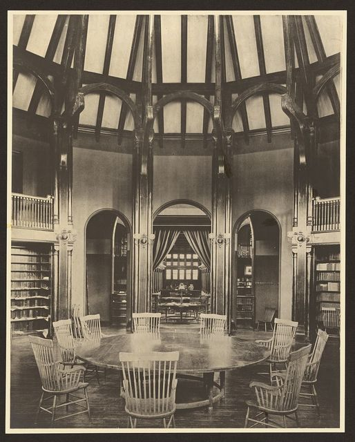 [Reading Room, Billings Library, University of Vermont, Burlington, Vermont]
