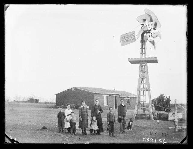 Robert McCarty family, Dale Valley, Nebraska