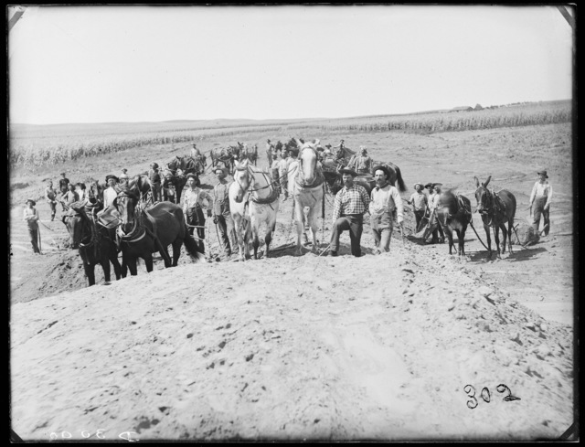 S.C. Troubtman camp, railroad graders west of Sargent, Nebraska