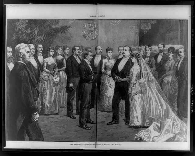 The President's wedding / [drawn] by T. de Thulstrup.