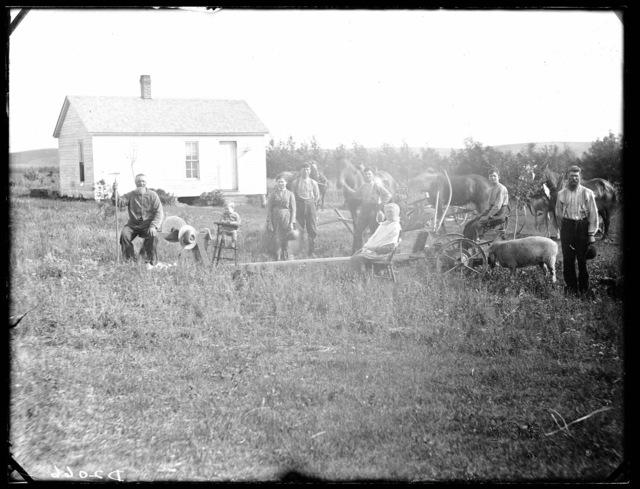 Weber Family, West Union, Custer County, Nebraska.