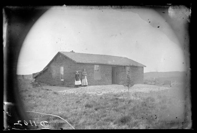 William Milburn family, Milburn, Custer County, Nebraska.