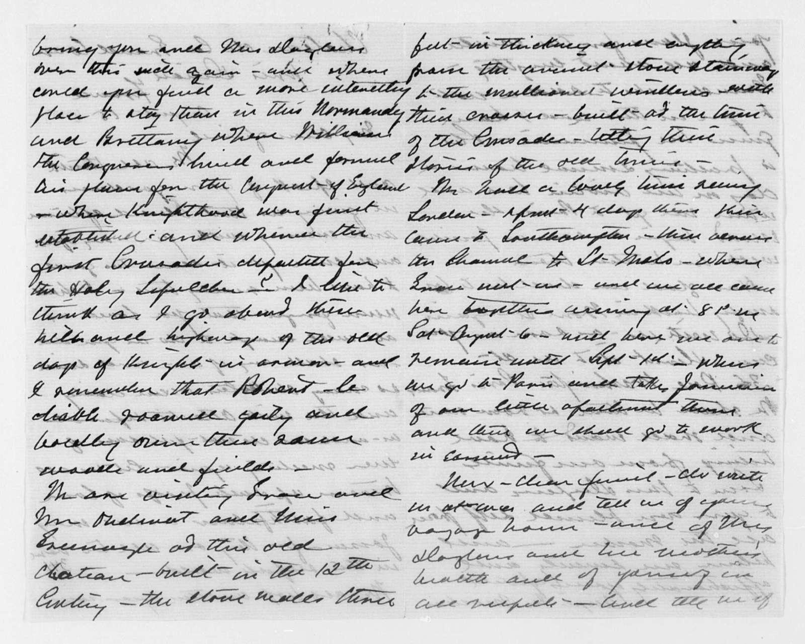 1887, Aug. - Dec. and Undated