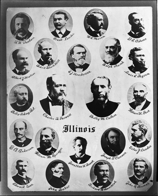50th Congress Illinois delegates / Brady & Handy Photo Wash D.C.