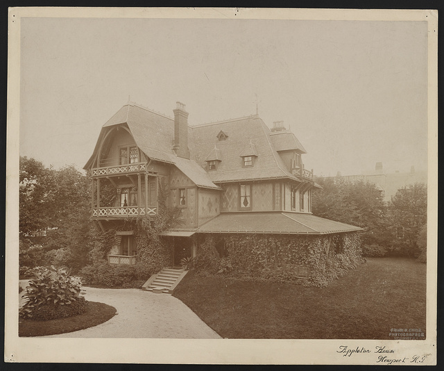 Appleton house, Newport, R.I. / Frank H. Child, photographer, Newport, R.I.