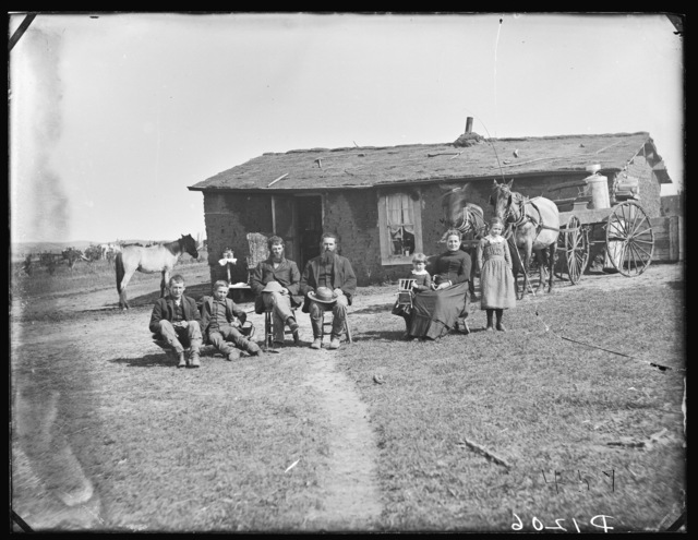 """Before Heading Out"", Custer County, Nebraska."