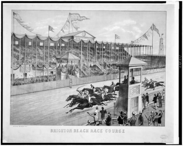 Brighton Beach Race Course / N.Y. Lith. Co. 198 Fulton St. N.Y.