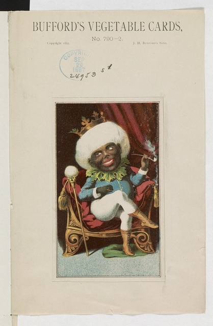 Bufford's vegetable cards, no. 790-2 [cotton] / Bufford.