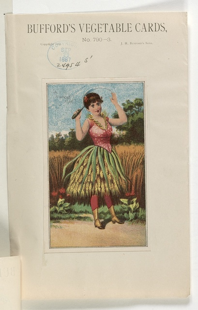 Bufford's vegetable cards, no. 790-3 [wheat] / Bufford.