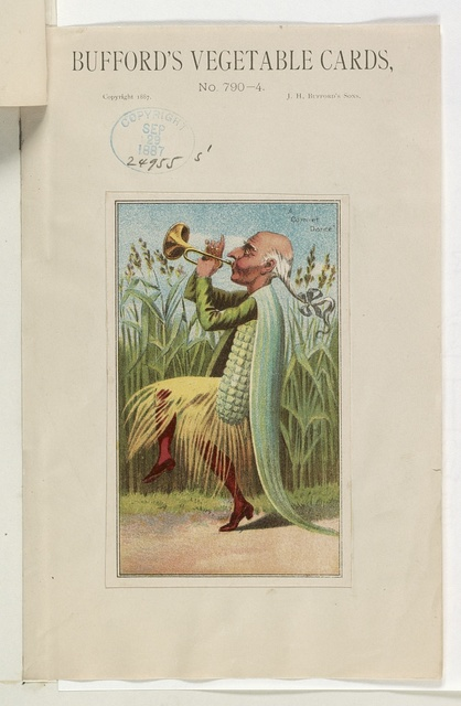 Bufford's vegetable cards, no. 790-4 [corn] / Bufford.
