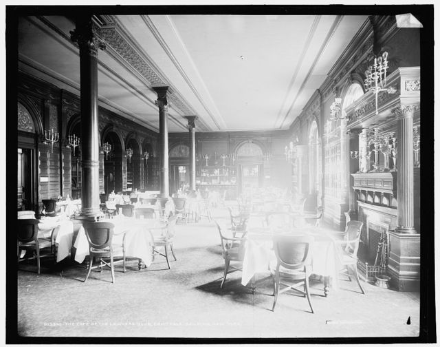 Cafe of the Lawyers Club, Equitable Building, New York, The