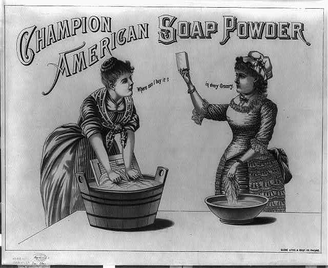 Champion American soap powder