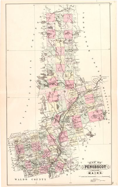 Colby's atlas of the state of Maine : including statistics and descriptions of its history, educational system, geology, rail roads, natural resources, summer resorts and manufacturing interests /