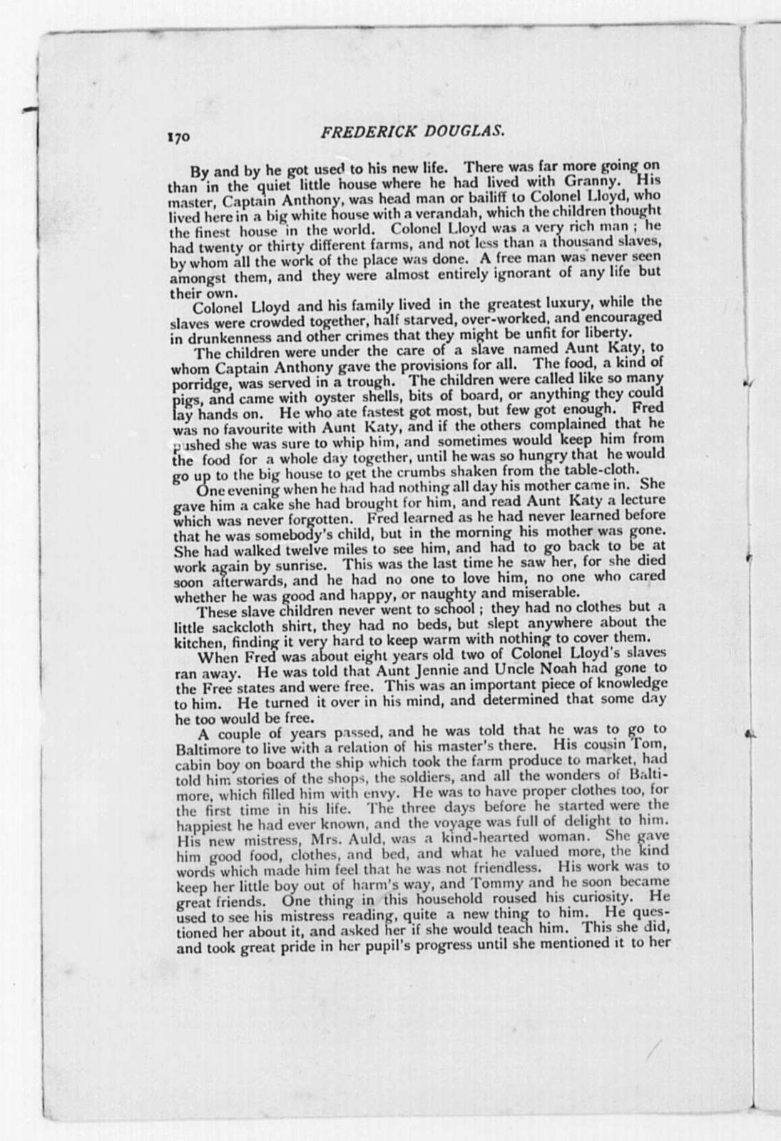 Douglass, Frederick (General) - Folder 3 of 9