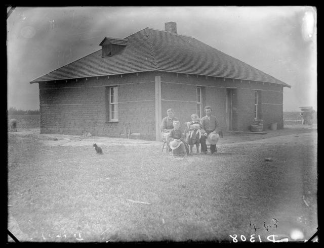 E. Haumont, French Table, Custer County, Nebraska.