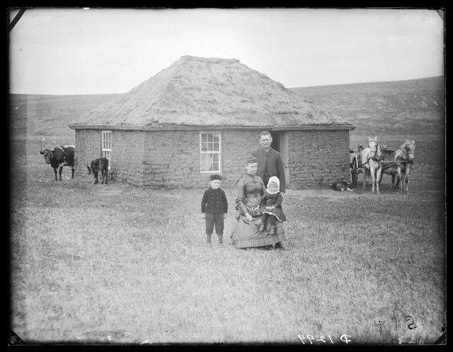 Fred Emery, Ortello (Valley), east Custer County, Nebraska.