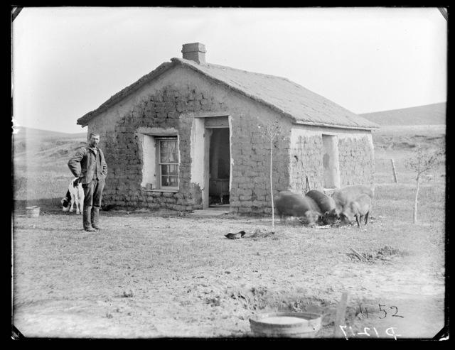 George Greenwalt, Weissert,  Nebraska, Custer County, Nebraska.