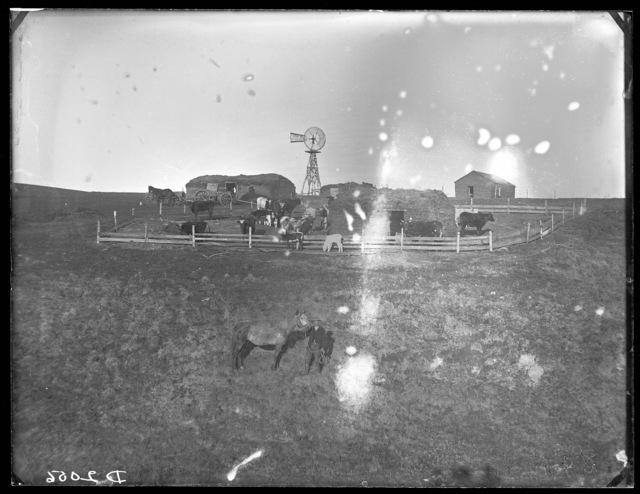 Herb Sargent, Sargent Valley, Custer County, Nebraska.