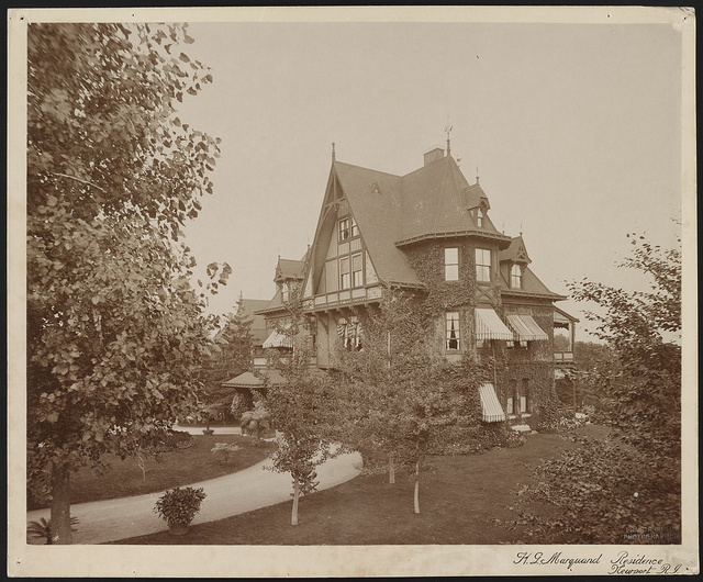 H.G. Marquand residence, Newport, R.I. / Frank H. Child, photographer, Newport, R.I.