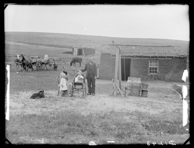 James Scott, near Westerville, Nebraska.