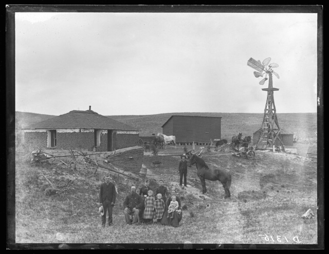 J.C. Johnson, Round Valley, Custer County, Nebraska.