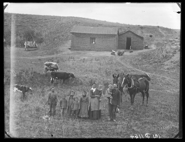 John U. Kleeb, Round Valley, Custer County, Nebraska