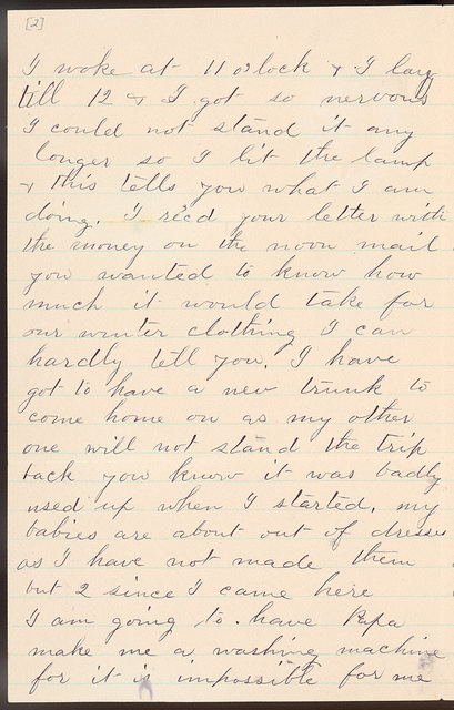 Letter from Laura I. Oblinger to Uriah W. Oblinger, August 17, 1887