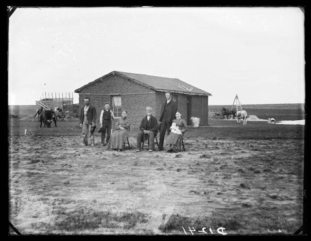 Lewis Haumont, French Table, near Broken Bow, Custer County, Nebraska.