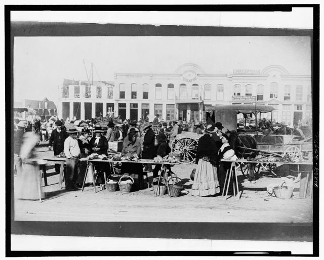 [Market on Military Plaza, San Antonio, Texas]
