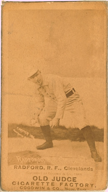 [Paul Radford, Cleveland Spiders, baseball card portrait]