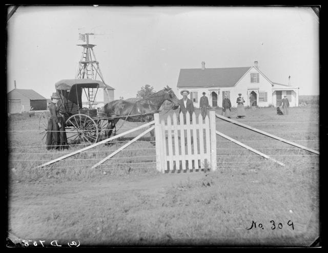R.G. Carr  residence, West Union, Nebraska