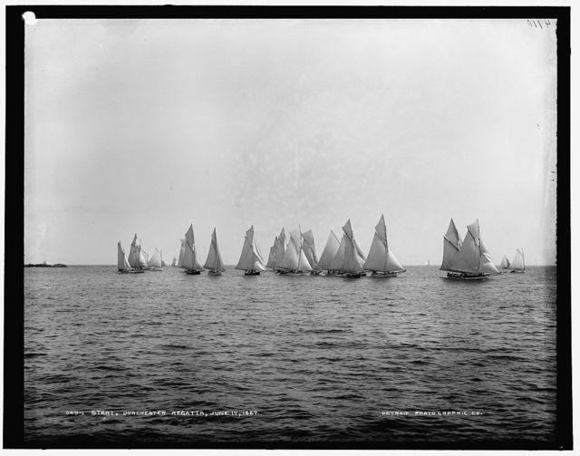 Start, Dorchester regatta
