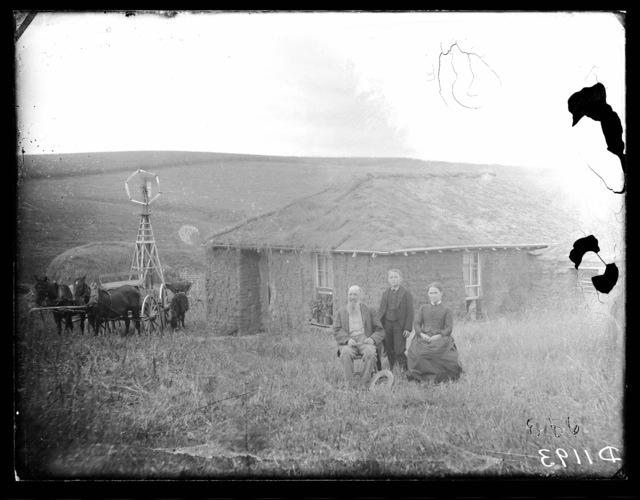 """""""Starting Over on the Prairie"""" Custer County, Nebraska."""