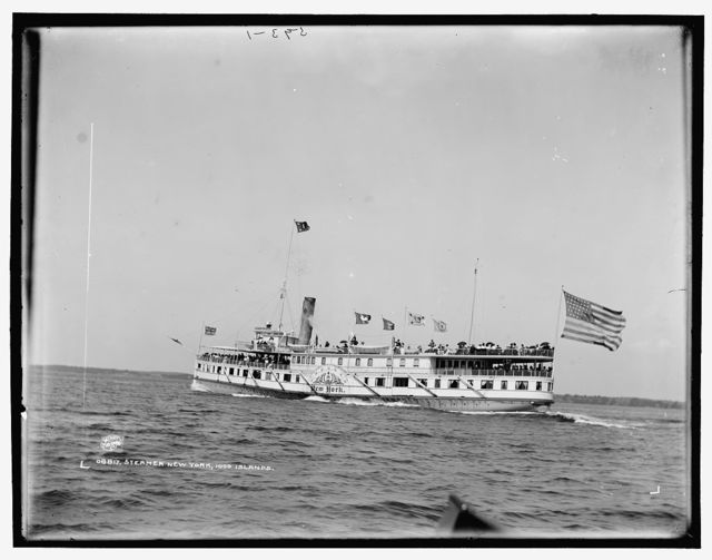 Steamer New York, 1000 Islands
