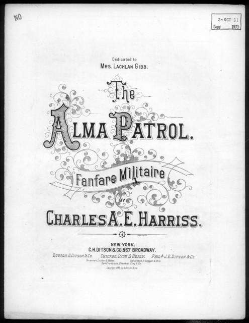 The  Alma patrol