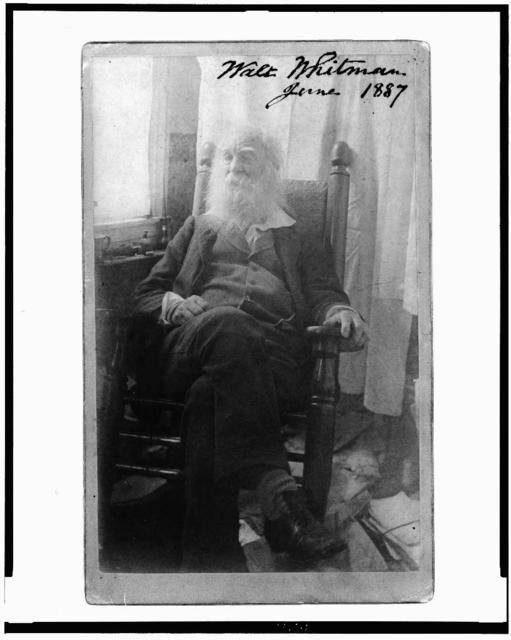 Walt Whitman, June 1887