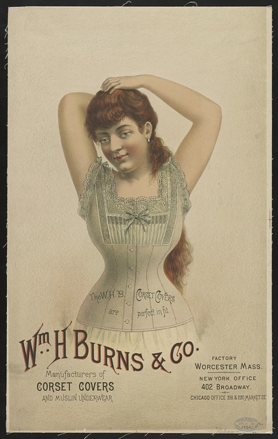 Wm. H. Burns & Co. manufacturer of corset covers and muslin underwear...