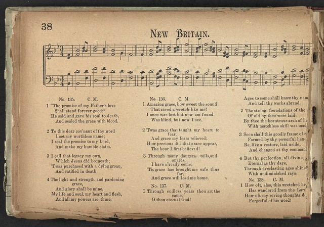 Baptist chorals A hymn and tune book for use in the churches