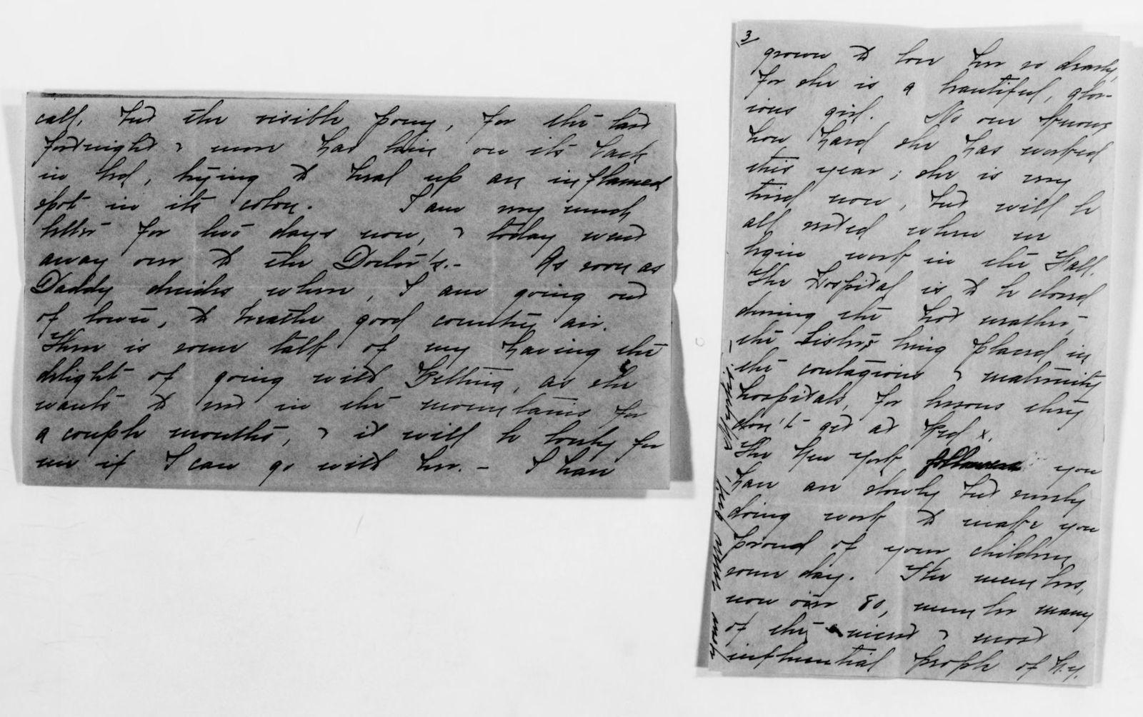 Clara Barton Papers: Family Papers: Butler, Myrtis Barton (grandniece), 1888-1941, undated