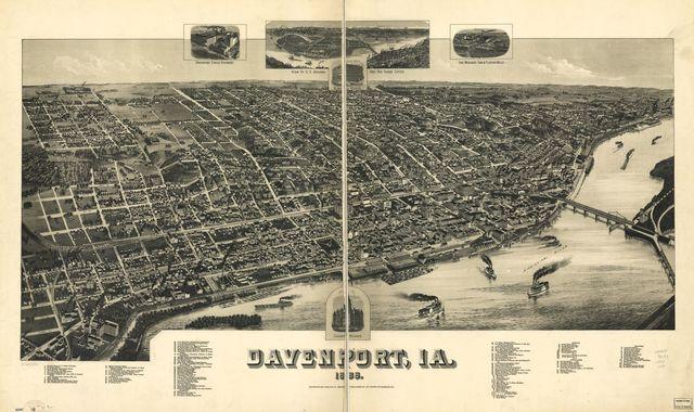 Davenport, Ia. 1888.