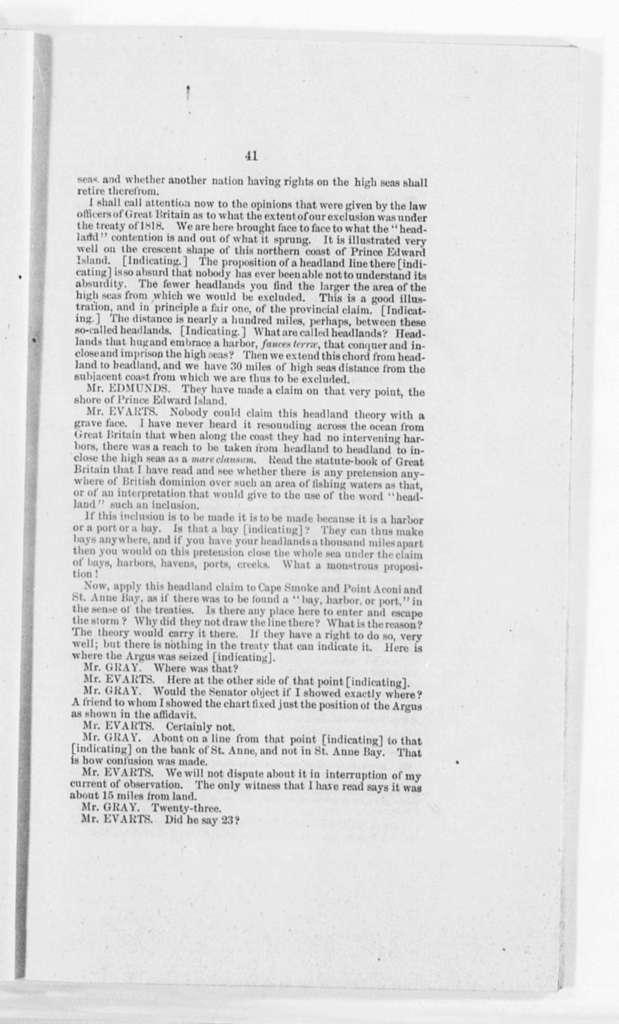Evarts, William M. - Folder 2 of 3