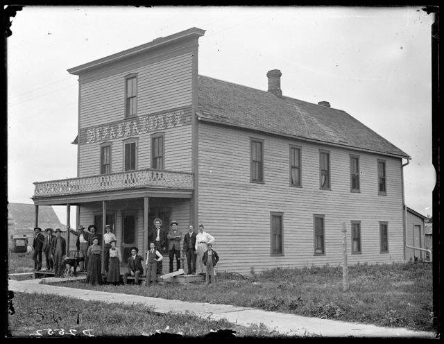 Farmstead in east Custer County