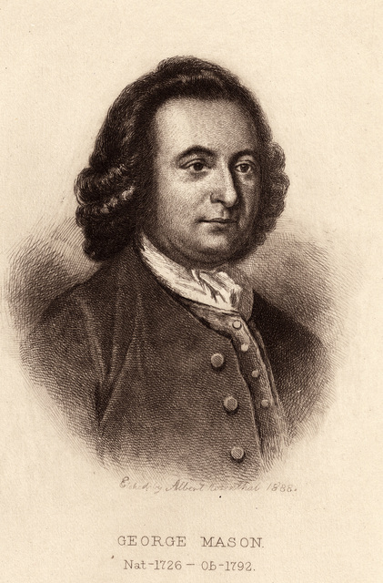 George Mason. nat-1726-ob-1792 : from the painting in the possession of the family.