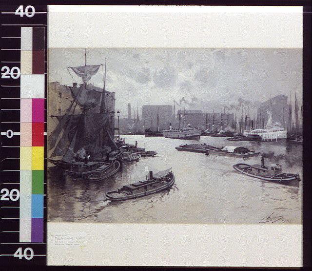 [Harbor in city]