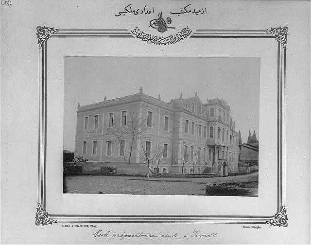 [High school, İzmit] / Sebah & Joaillier, Phot., Constantinople.