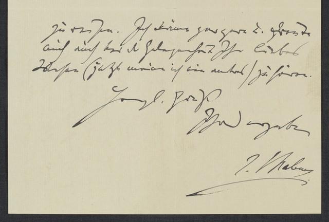 [Letter, 1888 July 4, to Robert Keller]