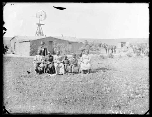 Moses Speese near Westerville, Custer County, Nebraska.