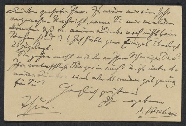 [Postcard, 1888 June 29], Thun [to] Robert Keller