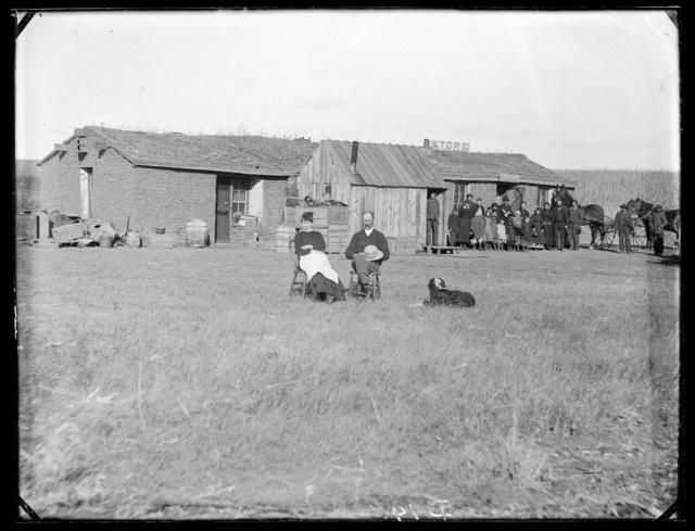 Sebert Lee, Round Valley, Custer County, Nebraska.